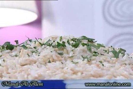 الأرز بلسان العصفور - مطبخ منال العالم