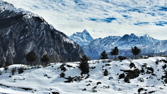 Auli snow mountain
