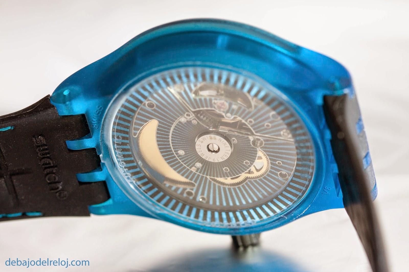 Uno de mis relojes: Swatch Sistem51 debajodelreloj4