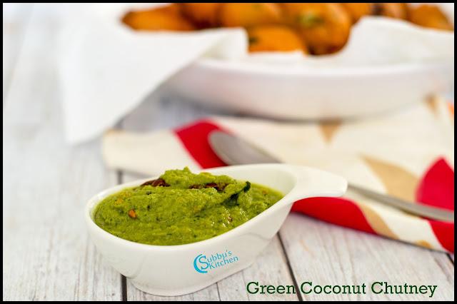 Restaurant style Green Coconut Chutney | Green Coconut Chutney
