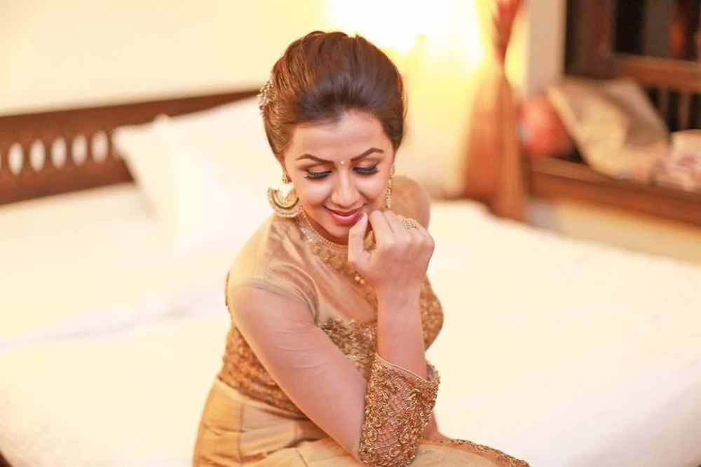 Nikki Galrani Walked The Ramp for Parvathy Chankramath