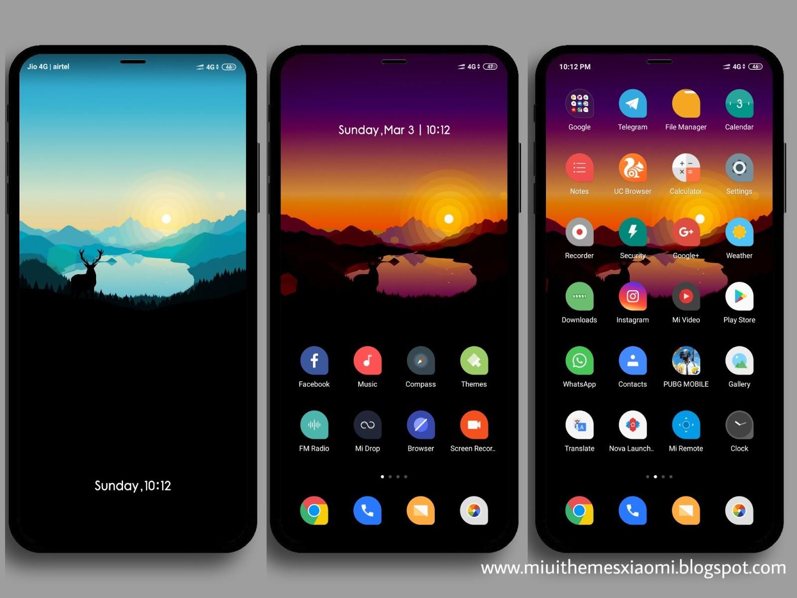 Flat V10 MIUI Theme Download For Xiaomi Mobile || || Xiaomi