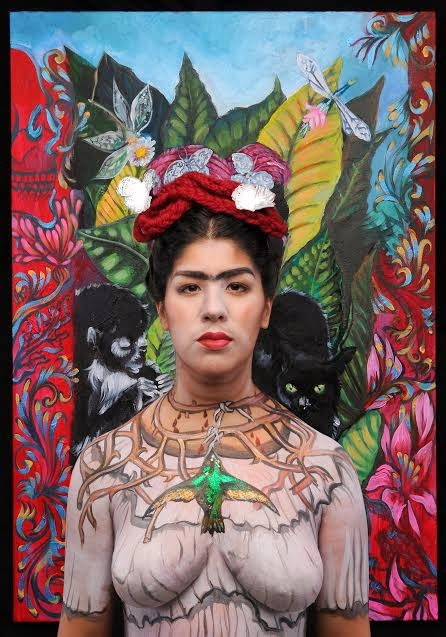Bombshell Body Art The Spirit Of Frida