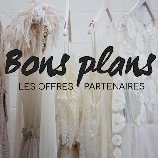 partenaires offres et bons plans codes promos mariage blog mariage www.unjourmonprinceviendra26.com