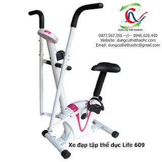Xe đạp tập thể dục trong nhà LIFE 609