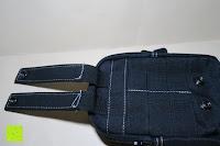Druckverschluss: Taktische Hüfttaschen , Sahara Sailor EDC Molle Tasche Nylon Gürteltasche für Wandern, Outdoor-Camping und Radfahren mit Aluminiumkarabiner
