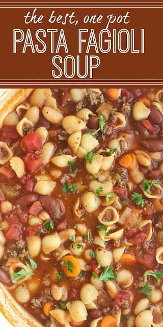 Hearty Pasta Fagioli Soup