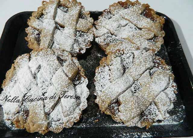 crostatine con farina multicereali
