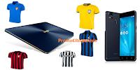 Logo Concorso ''20 anni di Gazzetta'': vinci gratis maglie storiche,buoni spesa e Notebook + Smartphone