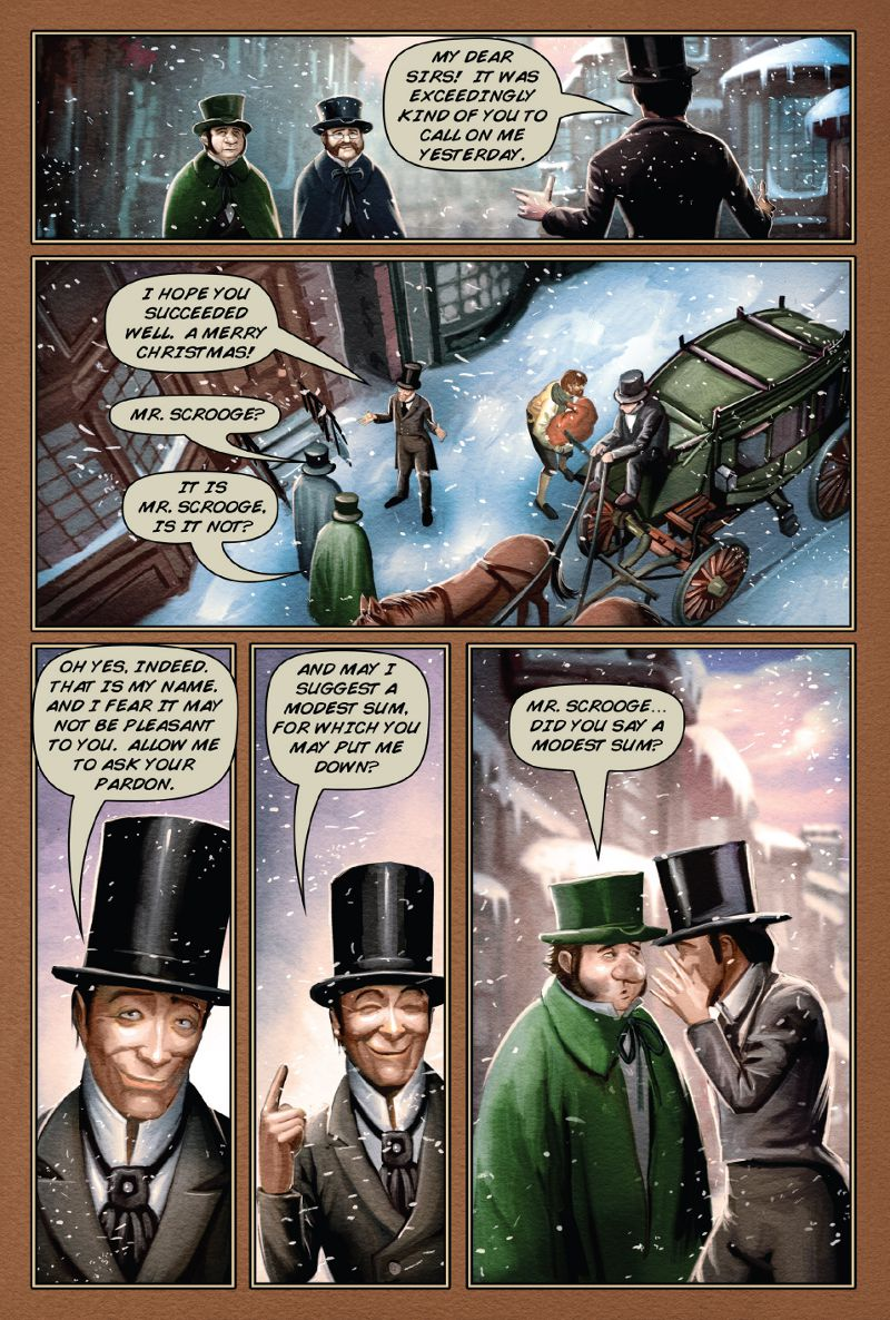 page 53 a christmas carol graphic novel