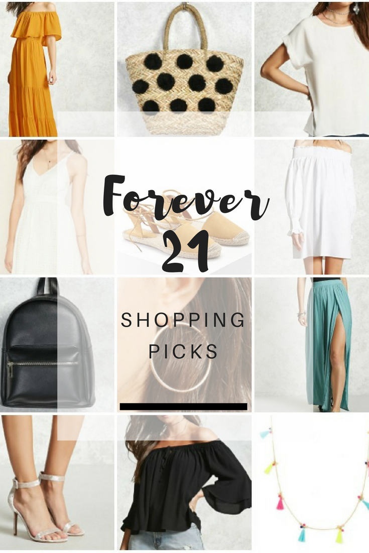 Forever 21 Shopping picks - Ioanna's Notebook