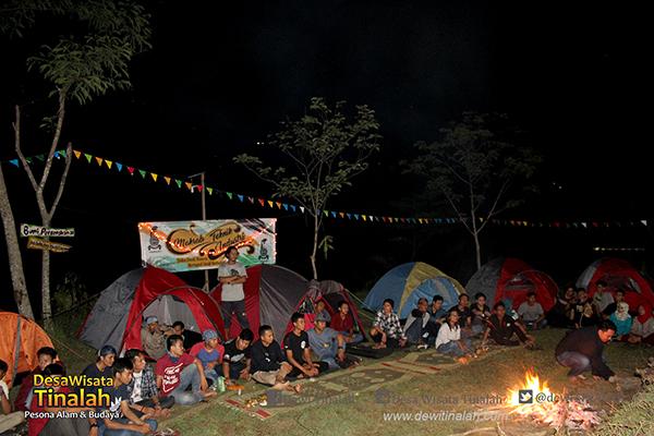 Rekomendasi Tempat Camping di Jogja Kawasan Kulon Progo - Desa Wisata Tinalah Jogja