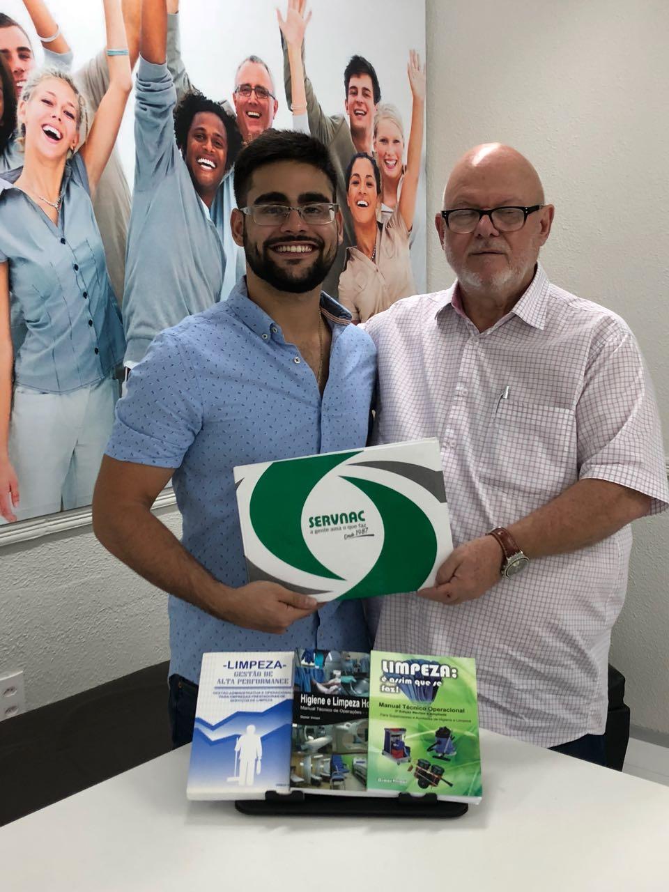 b62fbfd52b4a4 Servnac fecha parceria com maior empresa de consultoria de limpeza do Brasil
