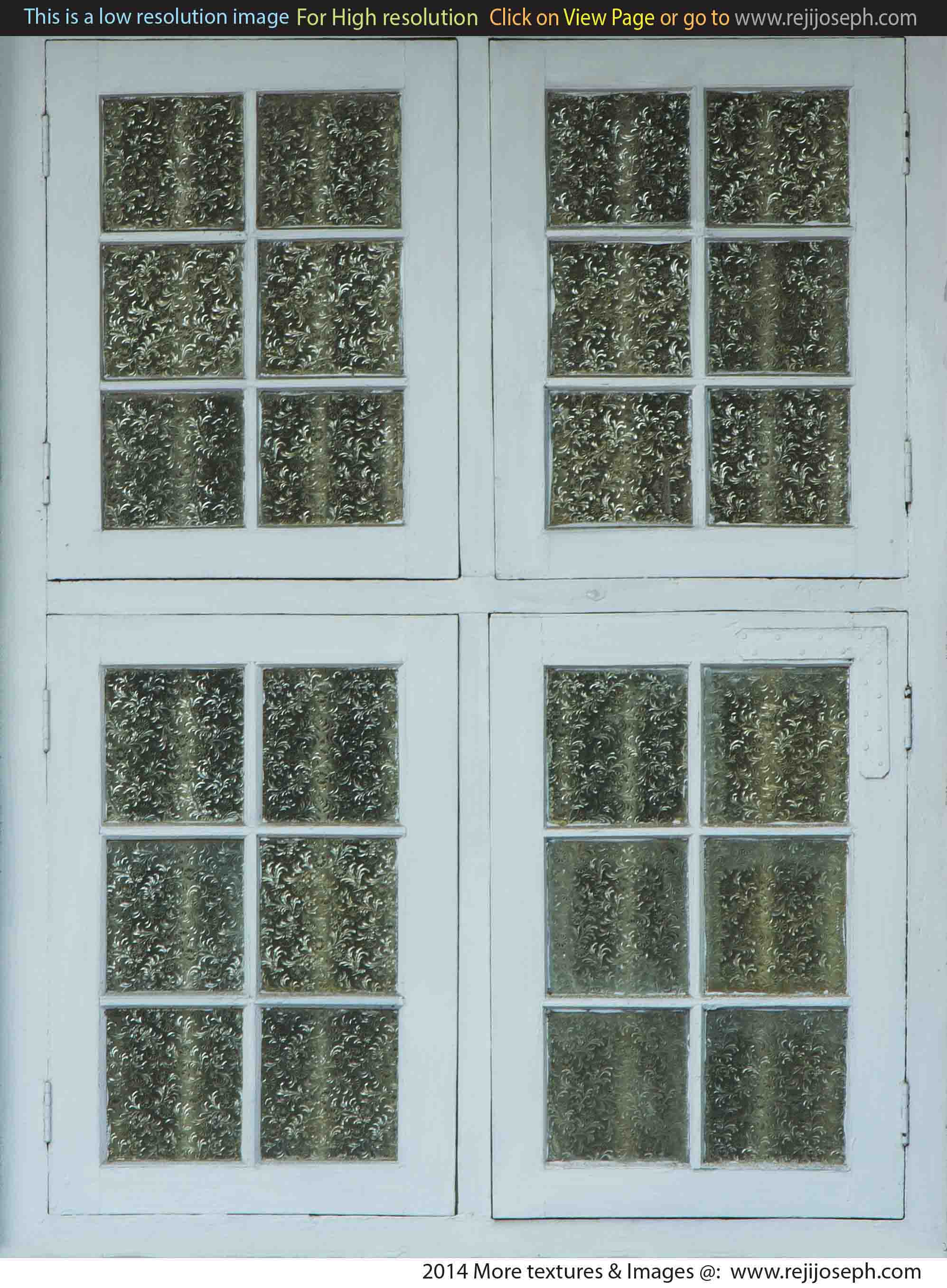 Painted glass Window texture 00004