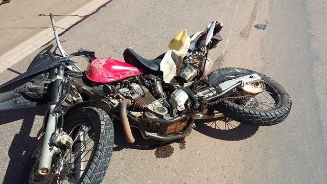 Motociclista morre ao bater de frente em caminhonete na BR 364