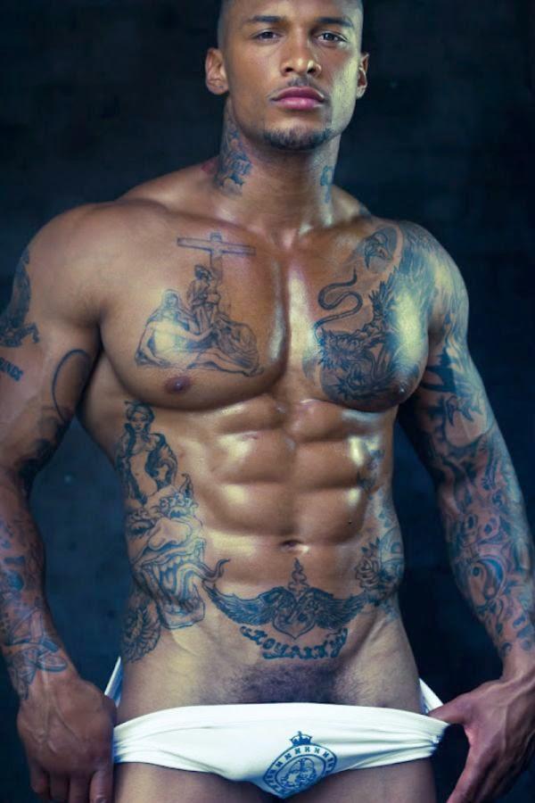 Black model nude bbw