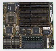 AT-Hauptplatine für 80486er-CPUs.