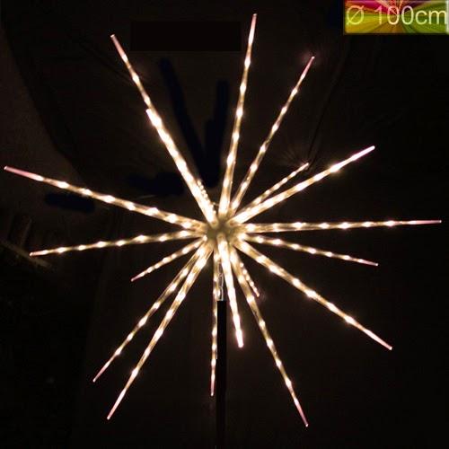 weihnachtsbeleuchtung au en stern mit schweif spezielle leuchtmittel und andere lampen von. Black Bedroom Furniture Sets. Home Design Ideas