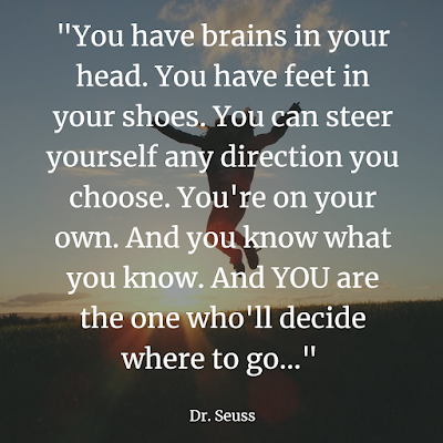 Dr Seuss quote for inspiration