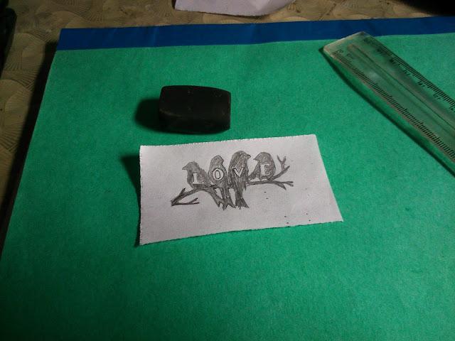 Hướng dẫn chi tiết các bước khắc lên thủy tinh.