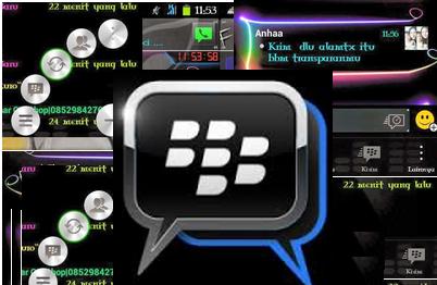 BBM Mod Neon Colour dan Teks warna-warni Versi 2.6.0.30 with Change Background