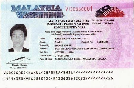 Malaysia Visa Processing In Bangladesh
