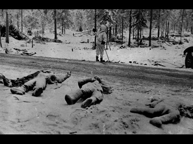 30 December 1939 worldwartwo.filminspector.com Soviet dead Suomussalmi