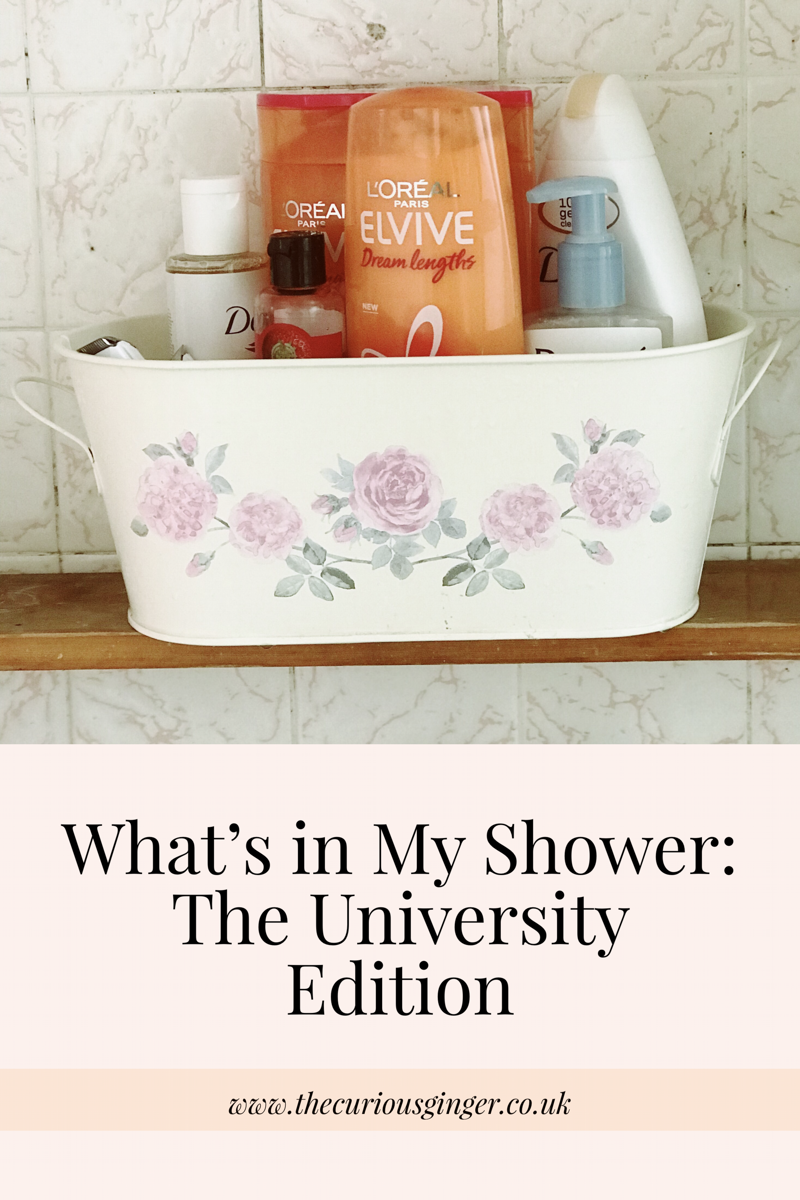 What's In My Shower? // The University Edition