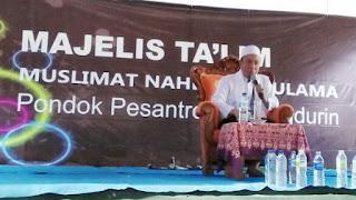 Kiai Musleh Ajak IHMNU Karangpenang Tidak Ikut Sebarkan Hoax
