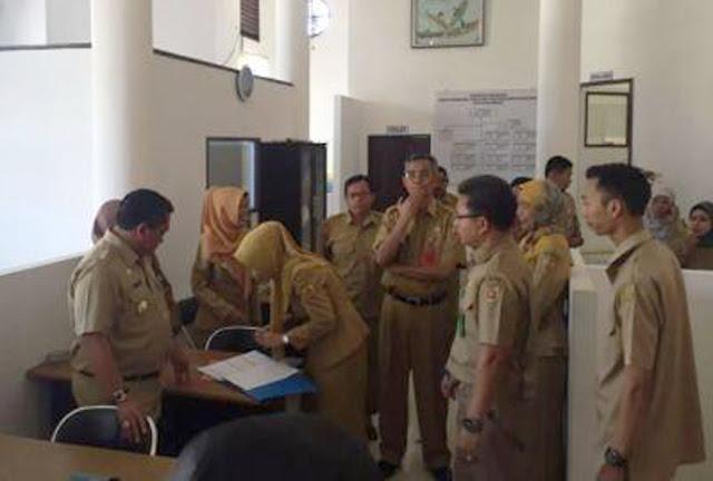 Astaga..! 154 PNS  Pemkot Banjarbaru Absen Hari Pertama Kerja