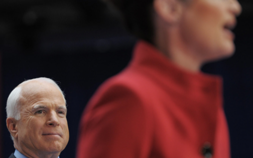 John McCain Regrets His Palin Pick for the Wrong Reasons