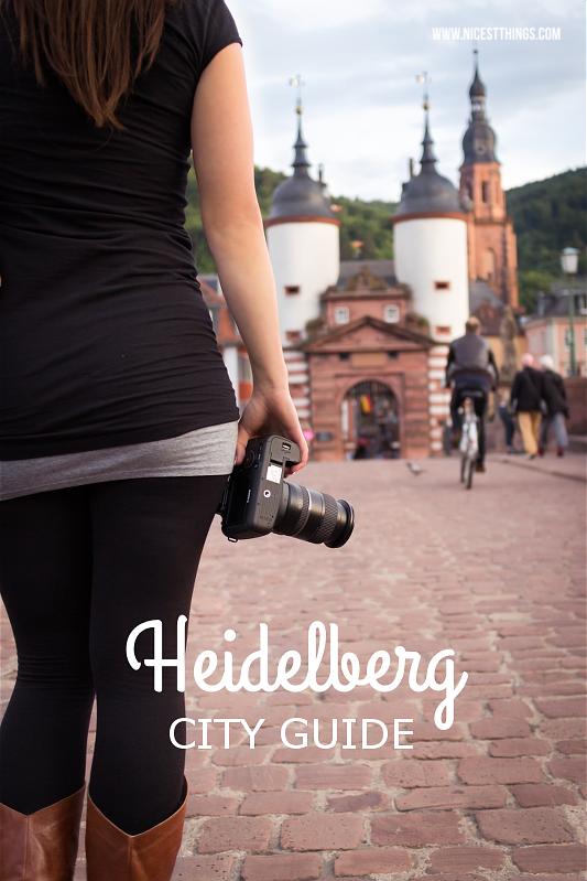 Heidelberg City Guide mit Empfehlungen für Cafes, Restaurants und Shops
