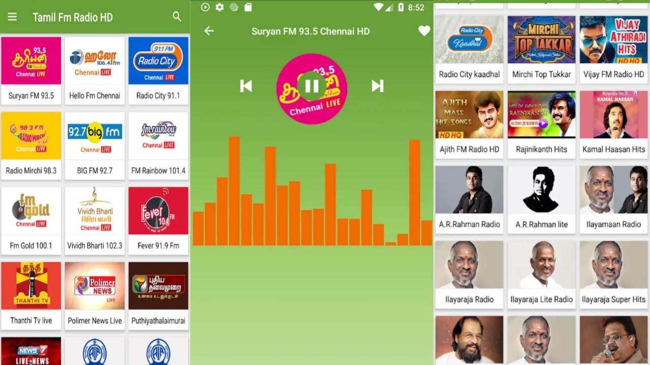 Tamil Fm Radio Hd - 1 Tech Tamil