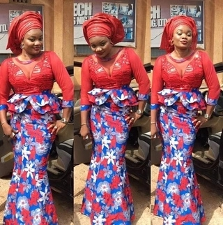 Collection of Beautiful Ankara Skirt and Blouse for All Women and Girls Pics