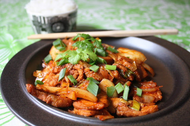 Kimchi possu kimchipossu korea korealainen ruoka