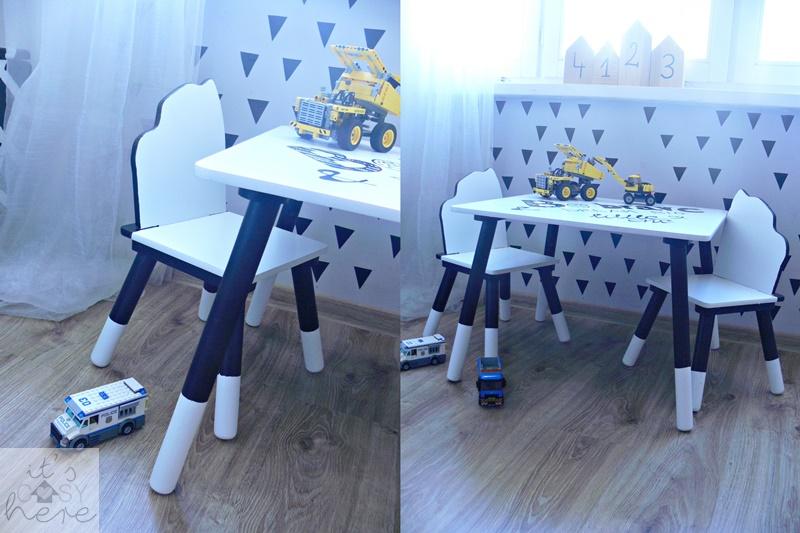 Stolik i krzesełka w nowym wcieleniu...