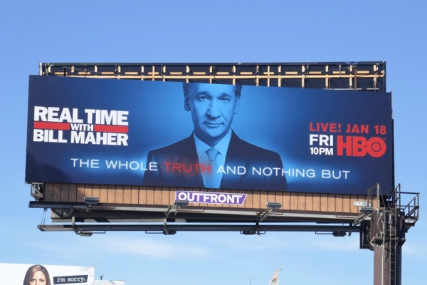 Bill Maher The whole truth and nothing but billboard