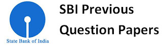 SBI Previous Question Papers