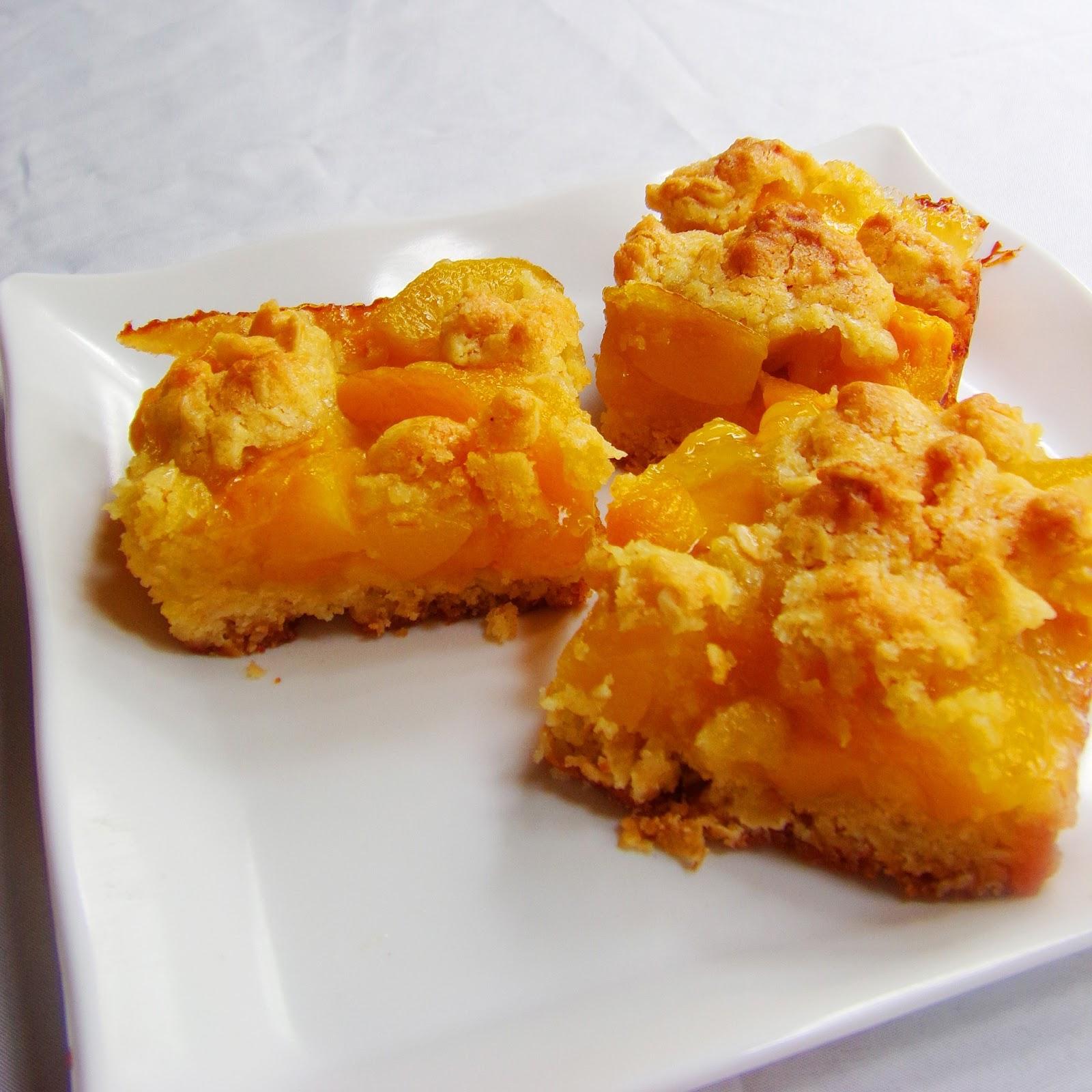 Peach Crumb Bars Smitten Kitchen