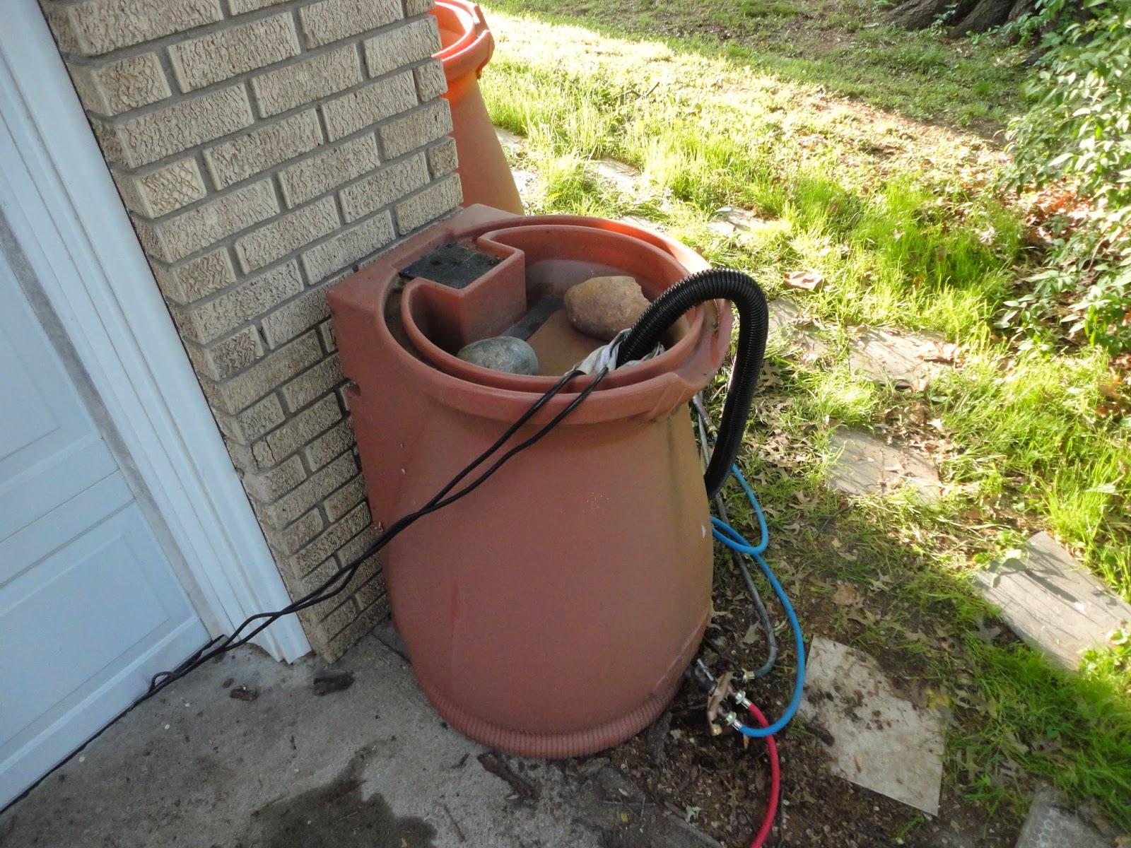 Rainbarrel Sump Pump Watering Systems Fmtyewtk