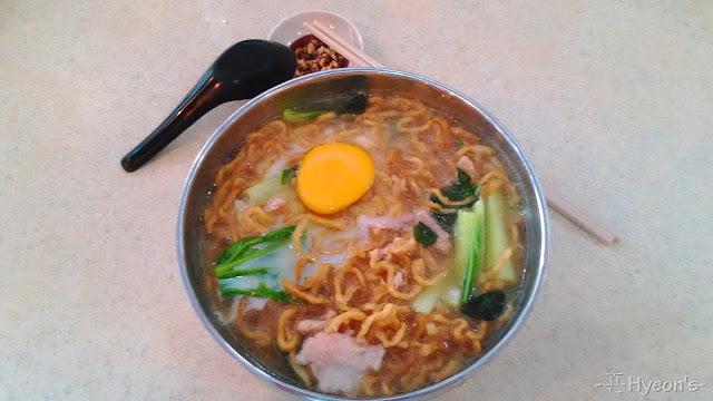 claypot noodle yee mian kedai kopi xing wan