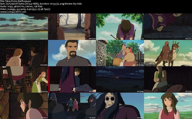 Gedo Senki [Cuentos de Terramar] DVDRip Descargar Subtitulos Español Latino