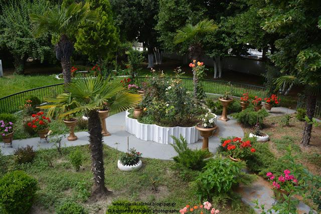 Ο κήπος του Ι.Ν. του Αγίου Θεράποντα στην Κατερίνη (Φωτογραφίες)