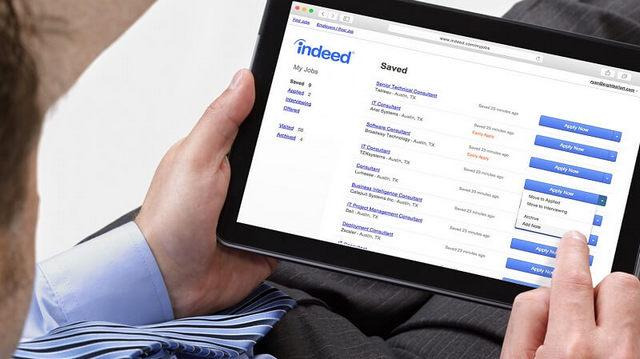 تطبيق Indeed للبحث عن الوظائف في العالم العربي