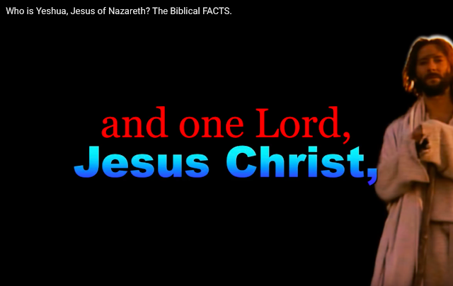 1 Corinthians 8:6.