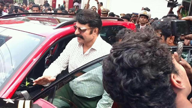Mammoottys New Look for Ranjith Movie Puthan Panam