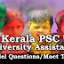 Kerala PSC Model Questions for University Assistant Exam - 93