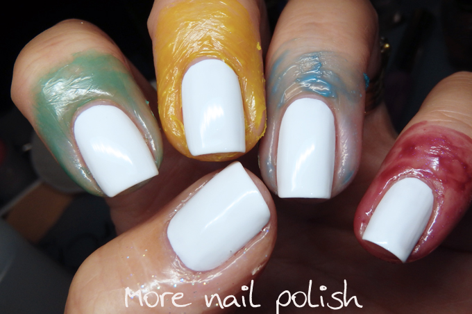 Is There A Down Side To Latex Barriers For Me No But Someone Allergic Then That S Mive Problem Where Vinyl Nail As Come In