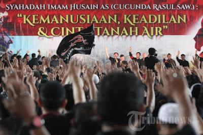 Ribuan Penganut Syiah Rayakan Asyura di GBK