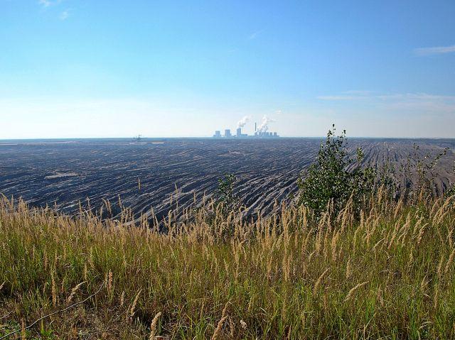 elektrownia, spalanie węgla brunatnego